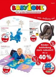 BabyOne Kinderbekleidung stark reduziert Dezember 2013 KW51