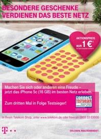 Telekom Shop Besondere Geschenke verdienen das beste Netz Dezember 2013 KW51 1