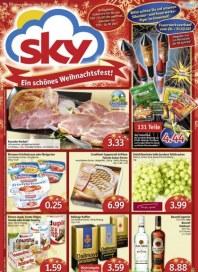 SKY-Verbrauchermarkt Angebote Dezember 2013 KW52