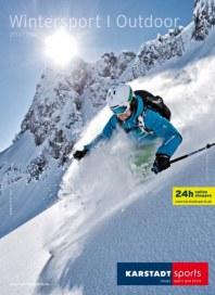 KARSTADT Karstadt sports - Wintersport Outdoor Dezember 2013 KW52