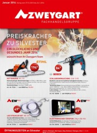 Zweygart Preiskracher zu Silvester Dezember 2013 KW52