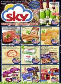 SKY-Verbrauchermarkt Angebote Dezember 2013 KW01