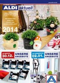 Aldi Nord Aldi Aktuell - Angebote ab Montag, 30.12 Dezember 2013 KW01