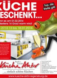 Küche Aktiv Top, die Wette gilt Dezember 2013 KW01