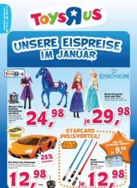 Toys'R'us Unsere Eispreise im Januar Januar 2014 KW01