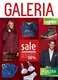 Galeria Kaufhof Saisonware reduziert Januar 2014 KW01