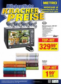 Metro Cash & Carry Preiskracher Januar 2014 KW01
