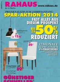 Rahaus Spar-Aktion 2014 Januar 2014 KW01