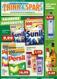 Trink und Spare Saubere Angebote Januar 2014 KW02