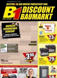 B1 Discount Baumarkt Aktuelle Angebote Januar 2014 KW01