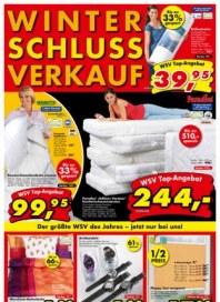 Dänisches Bettenlager Winterschlussverkauf Januar 2014 KW01