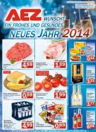 AEZ Wochenangebot Januar 2014 KW02