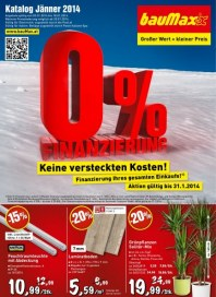 bauMax bauMax Angebote 02.01 - 18.01.2014 Januar 2014 KW01
