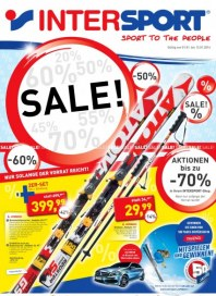 Intersport Intersport Angebote 01.01 - 12.01.2014 Januar 2014 KW01