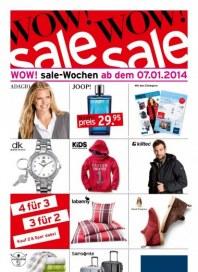 KARSTADT Wow! sale-Wochen ab dem 27.12.2013 Januar 2014 KW02