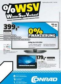 Conrad Winter Spar Verkauf Januar 2014 KW02