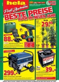 hela Profi Zentrum Baumarkt Angebote Januar 2014 KW02