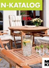 Möbel Kraft Garten-Katalog Januar 2014 KW02