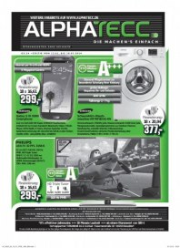 AlphaTecc Elektronik & Technik Angebote Januar 2014 KW03