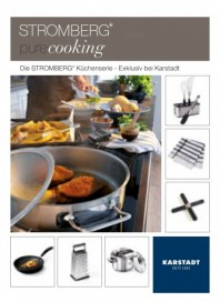 KARSTADT Living - Stromberg pure cooking Januar 2014 KW04