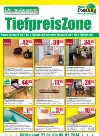 Holz Possling Tiefpreis Zone Januar 2014 KW05