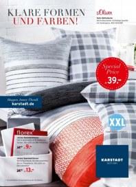 KARSTADT Living - Klare Formen und Farben Januar 2014 KW04