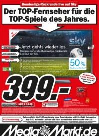 MediaMarkt Der TOP-Fernseher für die TOP-Spiele des Jahres Januar 2014 KW04