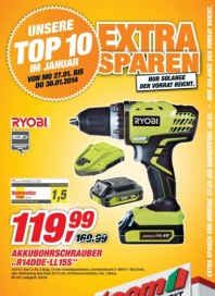 toom Baumarkt Baumarkt - TOP 10 Angebote Januar 2014 KW05