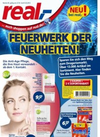real,- Sonderbeilage - Feuerwerk der Neuheiten Januar 2014 KW05