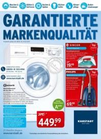 KARSTADT Elektro - Garantierte Markenqualität Januar 2014 KW05
