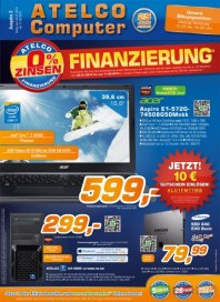 ATELCO Computer 0% Finanzierung Januar 2014 KW05