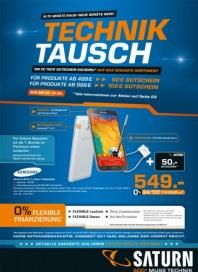 Saturn Technik Tausch Januar 2014 KW05