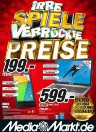 MediaMarkt Irre Spiele verrückte Preise Januar 2014 KW05