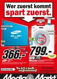 MediaMarkt Wer zuerst kommt - spart zuerst Januar 2014 KW05 1