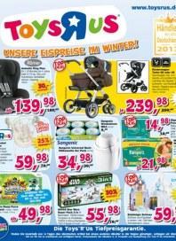 Toys'R'us Unsere Eispreise im Winter Januar 2014 KW05