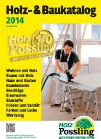 Holz Possling Holz- & Baukatalog 2014 Februar 2014 KW05