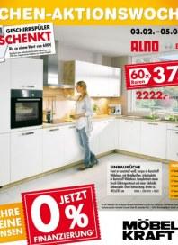 Möbel Kraft Küchen-Aktionswochen Februar 2014 KW06