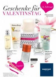 KARSTADT Beauty - Geschenke für Valentinstag Februar 2014 KW06