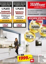Höffner Höffner - Küchen Spezial Februar 2014 KW06