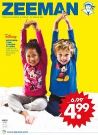 Zeeman Disney Mädchen- oder Jungen-Pyjama Februar 2014 KW06