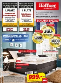 Höffner Schlafen Spezial Februar 2014 KW07