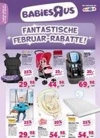 Toys'R'us Fantastische Februar-Rabatte Februar 2014 KW05
