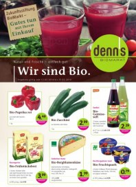 Denn's Biomarkt Aktuelle Angebote Februar 2014 KW07