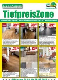Holz Possling Tiefpreis Zone Februar 2014 KW09