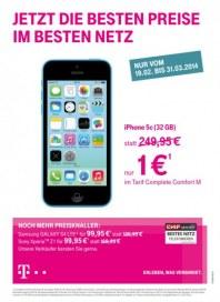 Telekom Shop Jetzt die besten Preise im besten Netz Februar 2014 KW08