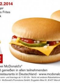 McDonald's Ich liebe es Februar 2014 KW09 1