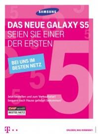 Telekom Shop Das neue Galaxy S5 Februar 2014 KW09
