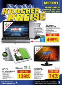 Metro Cash & Carry Preiskracher Februar 2014 KW09 2