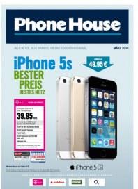 Phone House Alle Netze, alle Handys, riesige Zubehörauswahl März 2014 KW09