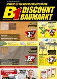 B1 Discount Baumarkt Aktuelle Angebote März 2014 KW09
